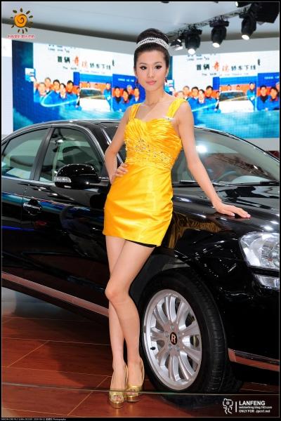 蓝风街拍  【蓝风525】2010深圳车展-奇瑞(5P) 街拍第一站全网原创独发!