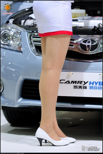 蓝风街拍  【蓝风532】2010深圳车展-可爱的丰田销售小姐(12P) 街拍第一站全网原创独发!