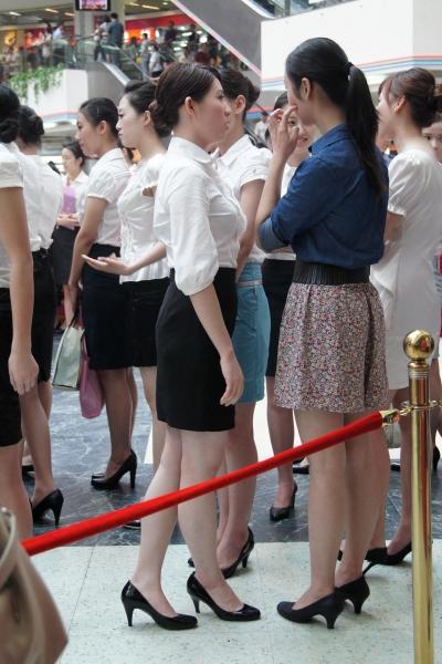 OL 制 服  【cuicui1221】一群,有韵味的美丽OL !【14P】 街拍第一站全网原创独发!