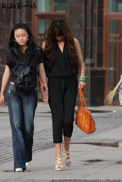 牛仔裤 美 女  2086-5p 街拍第一站全网原创独发!