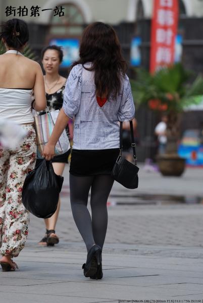 包 臀 短 裙  2167-5p 街拍第一站全网原创独发!