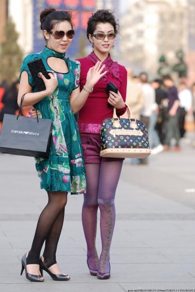 彩 丝 美 女  时尚美 少 妇 ,94耍大牌2 街拍第一站全网原创独发!
