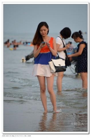 女大学生街拍  22012-589 姑娘,你穿裤子了么? 街拍第一站全网原创独发!