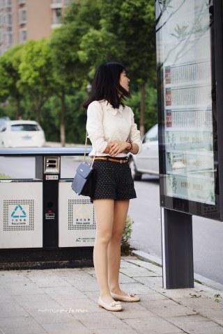 summer_y街拍  时尚 美 女  6P 街拍第一站全网原创独发!