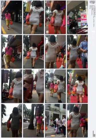 牛 仔 视频  1-128-紧身白裙 少 妇 身材变形.mp4 街拍第一站全网原创独发!