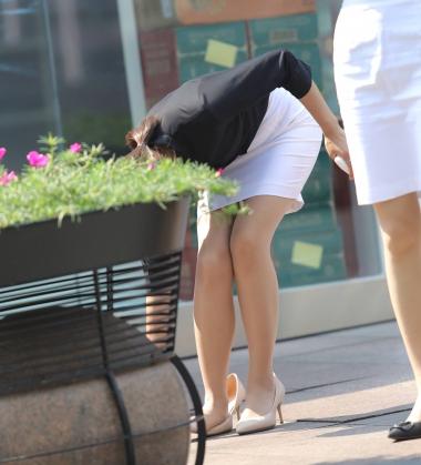 [权限要求:三年期VIP及以上]  【珏一笑而过】诱惑肉 丝 袜 高跟 OL-16P 街拍第一站全网原创独发!
