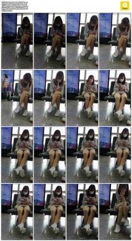 xiangzhou视频  薄 肉 丝 袜 运动鞋小姐姐 街拍第一站全网原创独发!