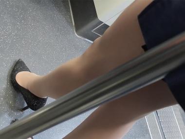BBC视频  150 商务美美 女 修长高跟美丝 街拍第一站全网原创独发!