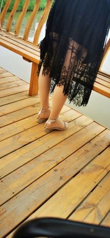 [原创申请客服QQ:1245904381]  对面美 女的肉 丝凉鞋 街拍第一站全网原创独发!