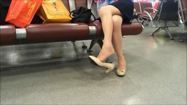 HSP视频  【HSP's video】肉 丝**挑鞋[08:26] 街拍第一站全网原创独发!