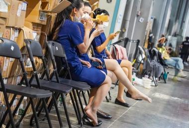 【jim2】2位蓝裙裙肉 丝美 女(15p) - 街拍图片发布- 街拍第一站