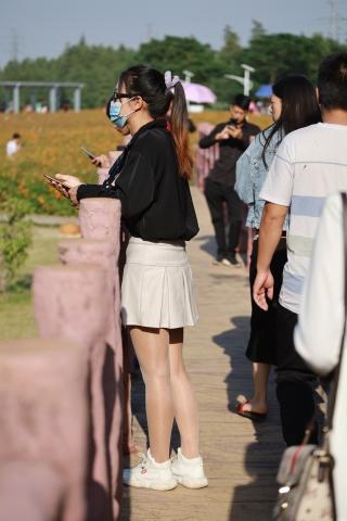 逛公园的**美 女们-227P - 街拍套图超市(招聘原创)- 街拍第一站
