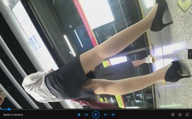 苏大熊视频  4K拍摄制fu白领OL超薄肉高跟镁腿(4分41秒) 街拍第一站全网原创独发!