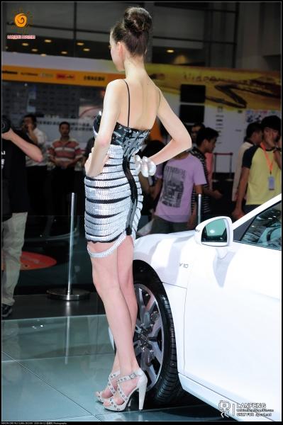 蓝风街拍  【蓝风526】2010深圳车展-奥迪洋嫩模(5P) 街拍第一站全网原创独发!