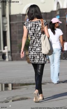 皮 裤 长 靴  黑白头像、漆皮裤-3600*2400 -4P 街拍第一站全网原创独发!