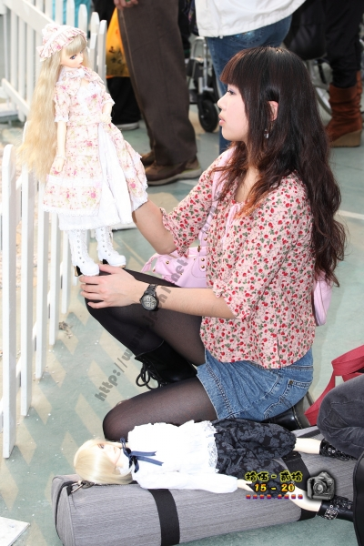 香港街拍  【1520系列 - 第二百四十四辑】 洋娃娃女孩 ..... (7P) 街拍第一站全网原创独发!