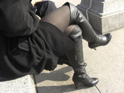 皮裤长靴  【LISERLI原创】近距扫射长靴黑丝熟妇(9P) 街拍第一站全网原创独发!