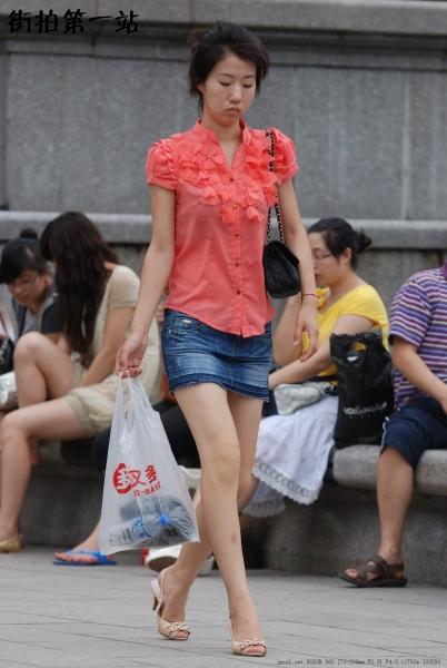 牛仔裤 美 女  2059-7p 街拍第一站全网原创独发!