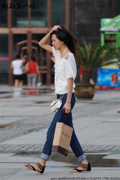 牛仔裤美女  2093-7p 街拍第一站全网原创独发!