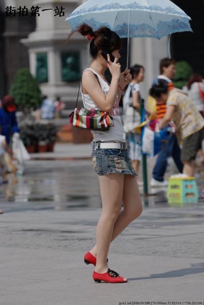 热 裤 美 女  2177-8p 街拍第一站全网原创独发!