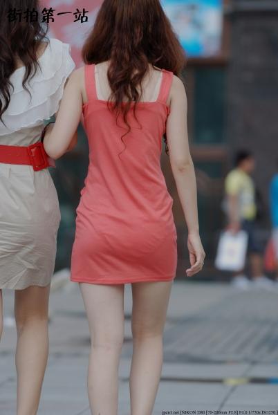 包 臀 短 裙  2195-5p 街拍第一站全网原创独发!