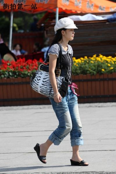 牛仔裤 美 女  2280-6p 街拍第一站全网原创独发!