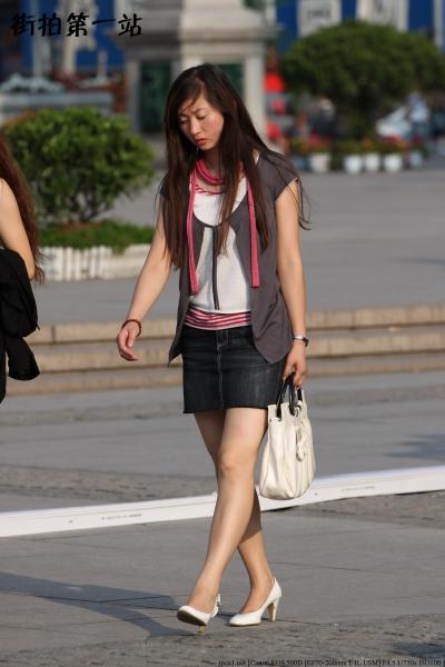牛仔裤 美 女  2349-6p 街拍第一站全网原创独发!
