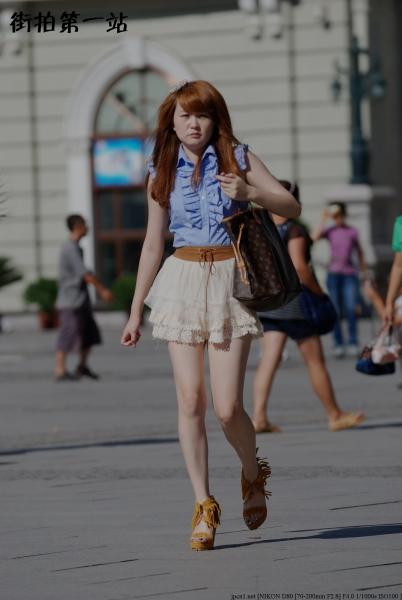 短裙美女  2422-8p 街拍第一站全网原创独发!