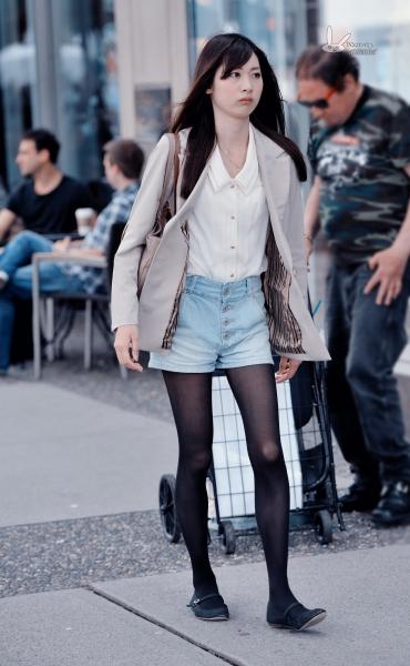 经典作品集  【antenna】夏の街拍之日本黑丝妹居然穿了双中式布鞋 7p 街拍第一站全网原创独发!