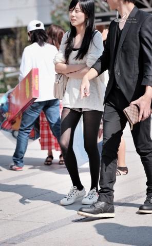 antenna街拍  【antenna】夏の 之 黑 丝 限量版板鞋女生 7p 街拍第一站全网原创独发!