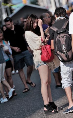 antenna街拍  【antenna】夏の 之玉腿牛仔热裤日系的面孔欧美范的打扮 8p 街拍第一站全网原创独发!