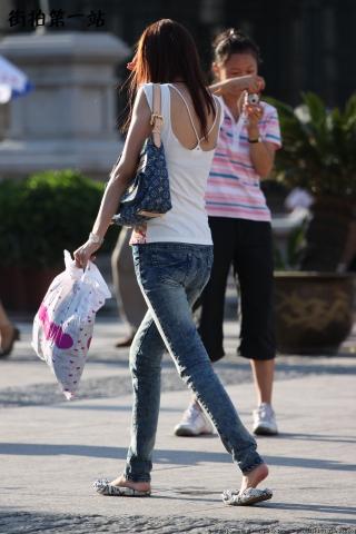 牛仔裤 美 女  2845-6P 街拍第一站全网原创独发!
