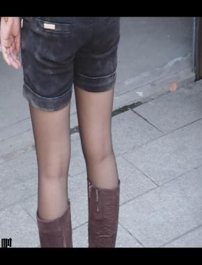美 腿 视频  cctvb出品 看部 黑 丝 长筒靴的作品! 街拍第一站全网原创独发!