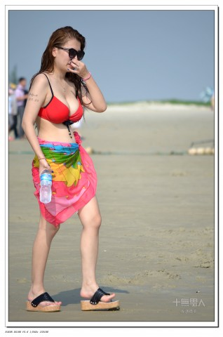 女大学生街拍  2012-602 海滩模特【12P】 街拍第一站全网原创独发!
