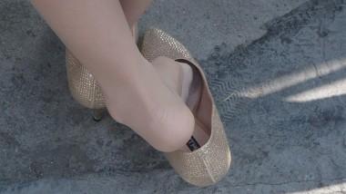 高跟视频  cctvb出品 特写金高肉丝漂亮MM之最后一集!鞋内丝足诱惑!! 街拍第一站全网原创独发!
