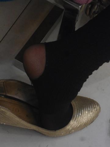 戴院街 拍 丝 袜  鞋店时光06——16P 街拍第一站全网原创独发!