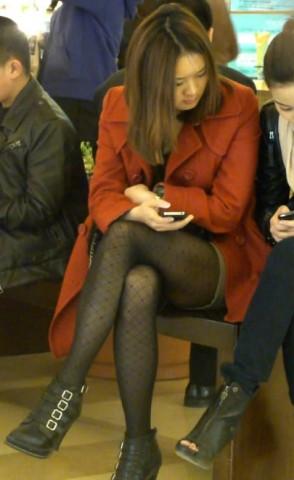 丝袜视频  美女的性感黑丝袜看的我不谈定了 街拍第一站全网原创独发!
