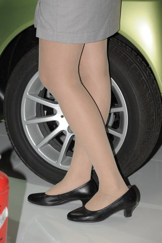超丝车展  超丝车展 丝 袜 模特 美 女 专题第83集[18P] 街拍第一站全网原创独发!