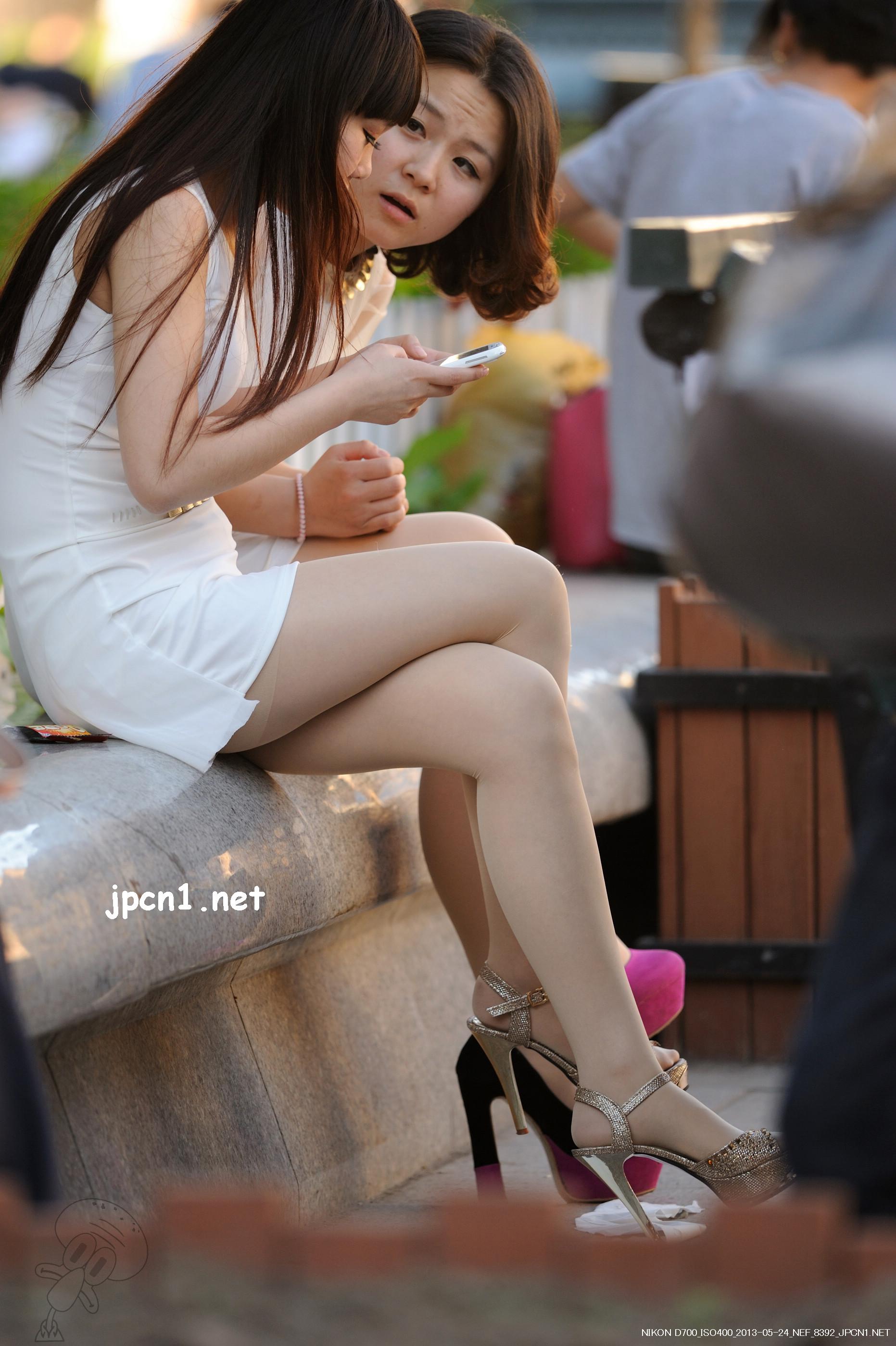 金+粉肉丝高跟-9张 - VIP街拍图片发布- 街拍第一站
