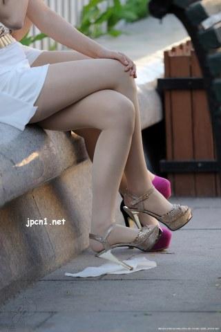 金+粉 肉 丝 高跟-9张 - VIP街拍图片发布- 街拍第一站