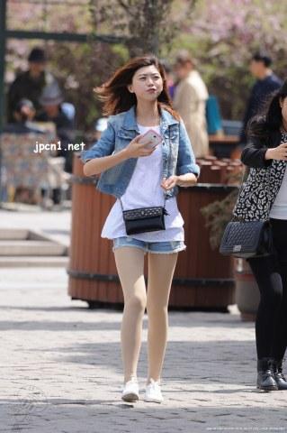 银镯牛仔套装 肉 丝 -12张 - VIP街拍图片发布- 街拍第一站