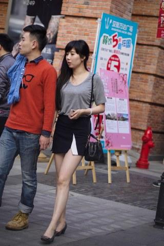 summer_y街拍  妹子舍身为2015夏季预热 6P 街拍第一站全网原创独发!