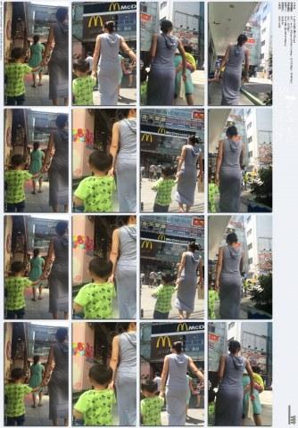 牛仔视频  1-110-灰色长裙少妇.mp4 街拍第一站全网原创独发!