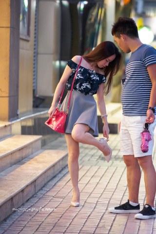 summer_y街拍  高跟美女 10P 街拍第一站全网原创独发!