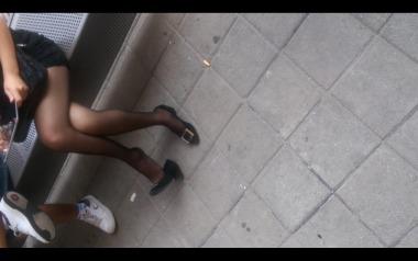 dangling002视频  诱惑黑丝美腿挑动诱惑高跟,大腿很美!【dangling精品街拍街拍视频】 街拍第一站全网原创独发!