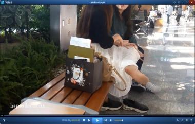 HSP丝袜视频  【HSP's video】美女长椅休息按摩街拍丝足[09:18] 街拍第一站全网原创独发!
