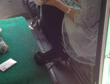 徐香视频  公交厚街拍黑丝恨天高美女哦--第3集(2个视频) 街拍第一站全网原创独发!