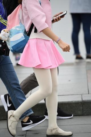 粉裙白丝-20张