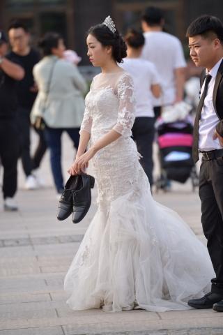 婚纱 美女