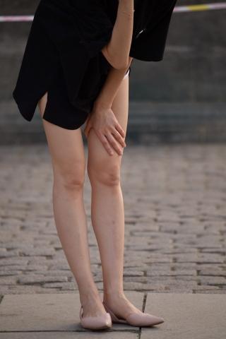 平底 长腿